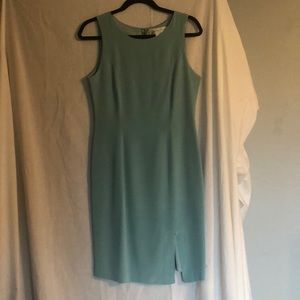 Summer silk cocktail dress.